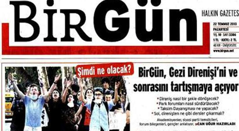 """""""Kahrolsun 'bağzı' yalanlar"""" BirGün'ün manşetinde!"""