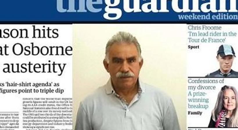 Kendisine yapılan benzetmelere sinirlendi! Abdullah Öcalan'dan Guardian'a mektup!