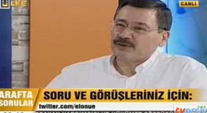 Melih Gökçek'ten Ahmet Hakan'a canlı yayında ilginç sözler