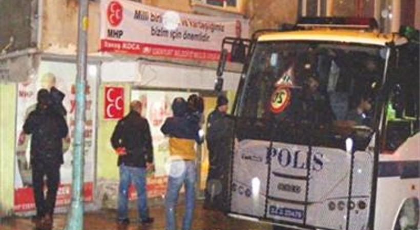 MHP'nin basın danışmanın öldüğü saldırıda 4 kişi gözaltına alındı