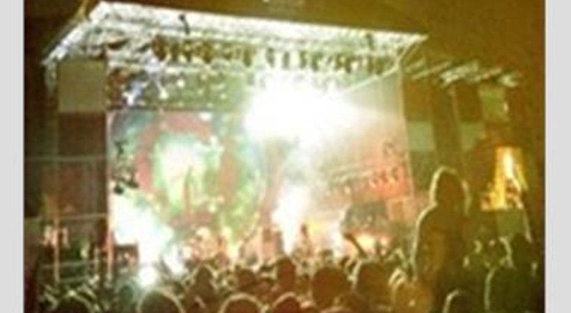 Placebo konserinde Gezi sloganı