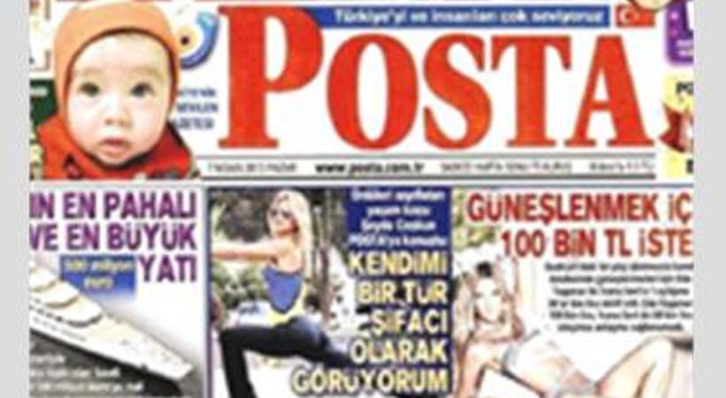 Posta Gazetesi reklam dünyasını uçurdu