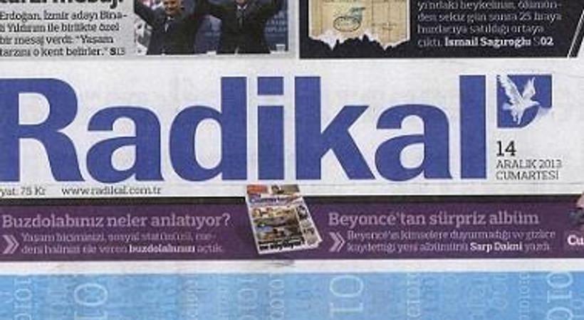 Radikal'den 'çıplak vatandaş'lı manşet!