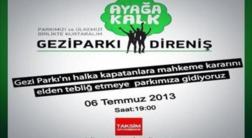 İşte Taksim Dayanışması'nın polis tarafından okunması engellenen açıklaması