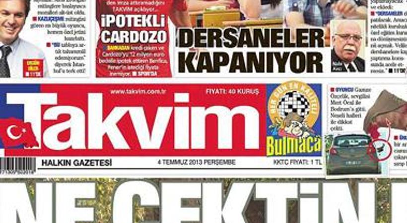 """Takvim'den Mevlüt Yüksel bu kez de 'ağaç'la röportaj yaptı: """"Ne çektin be kızılağaç"""""""