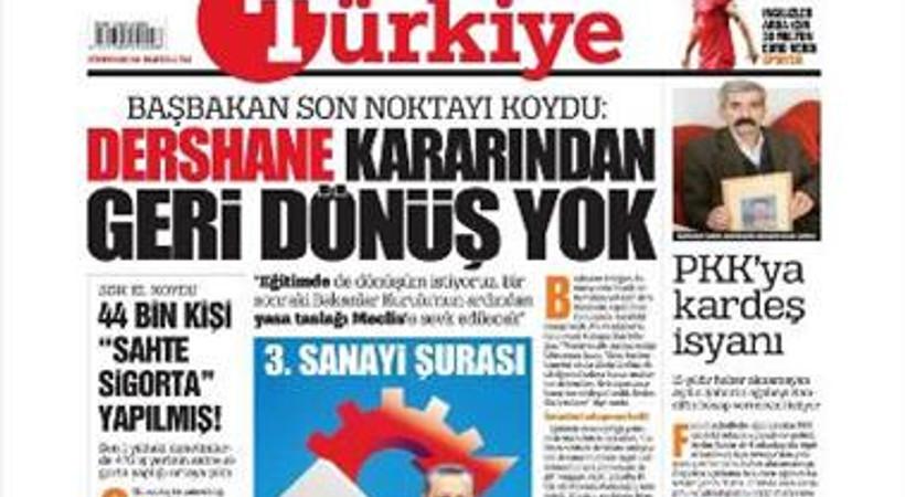 Taraf'tan Türkiye gazetesine geçen o isim gazeten ayrıldı!