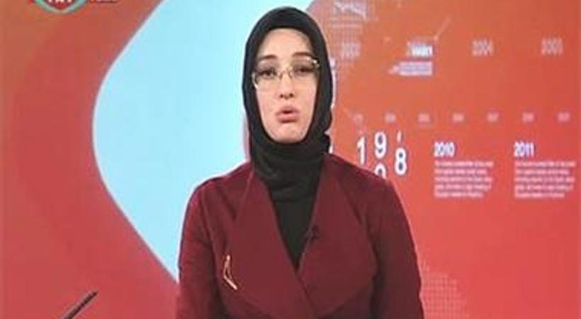 TRT'nin ilk türbanlı spikeri izleyici karşısına çıktı