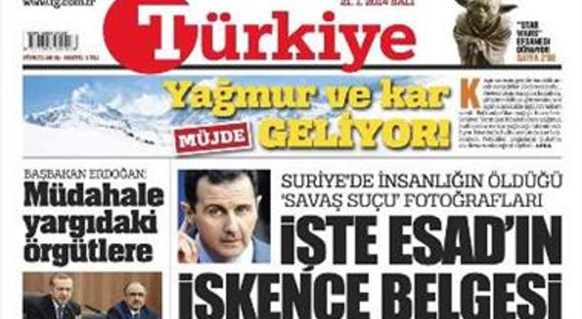 Türkiye gazetesi iki çalışanı işten çıkardı!