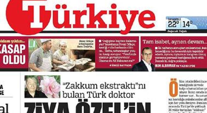 Türkiye gazetesindeki büyük değişim, satışlara nasıl yansıdı? İşte, tirajlar!