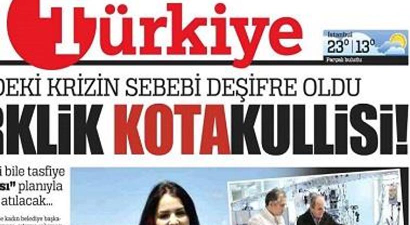 Türkiye gazetesine 2 yeni 'kahraman'