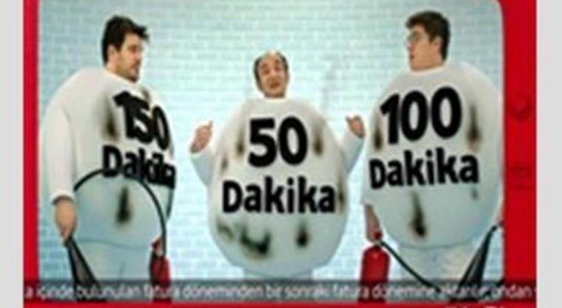Vodafone'un yeni reklam filminde dakikalar yanıyor
