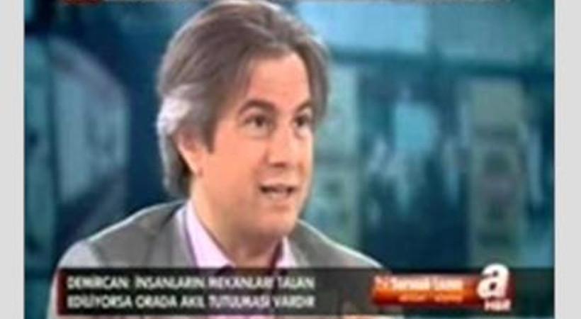 Yayında olduğunu fark etmeyen belediye başkanından Gezi sorusuna sert çıkış!