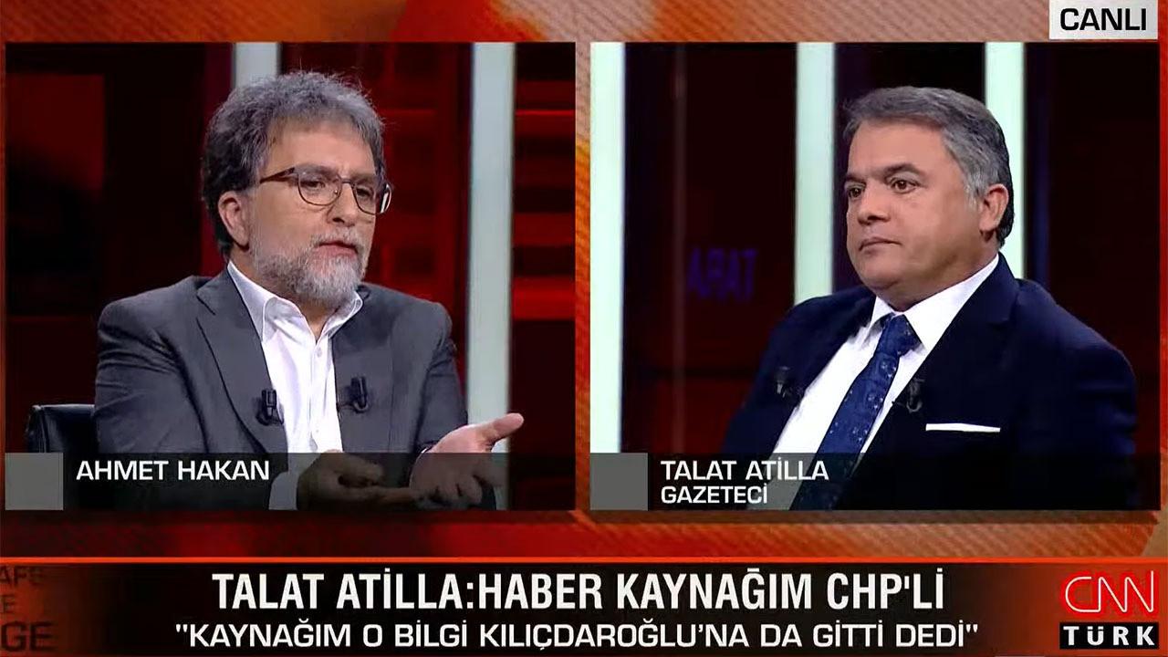 Ahmet Hakan ile Atilla Turan arasında canlı yayında gergin anlar!