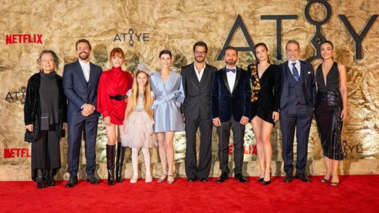 Netflix dizisi Atiye'ye görkemli gala!