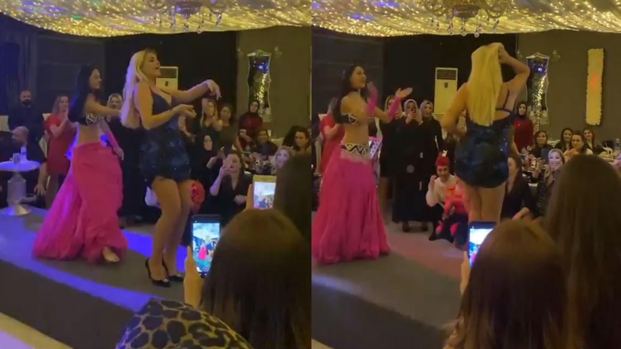 Selin Ciğerci'den dans şov