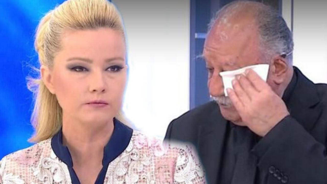 Rahmi Özkan canlı yayında gözyaşlarına boğuldu!