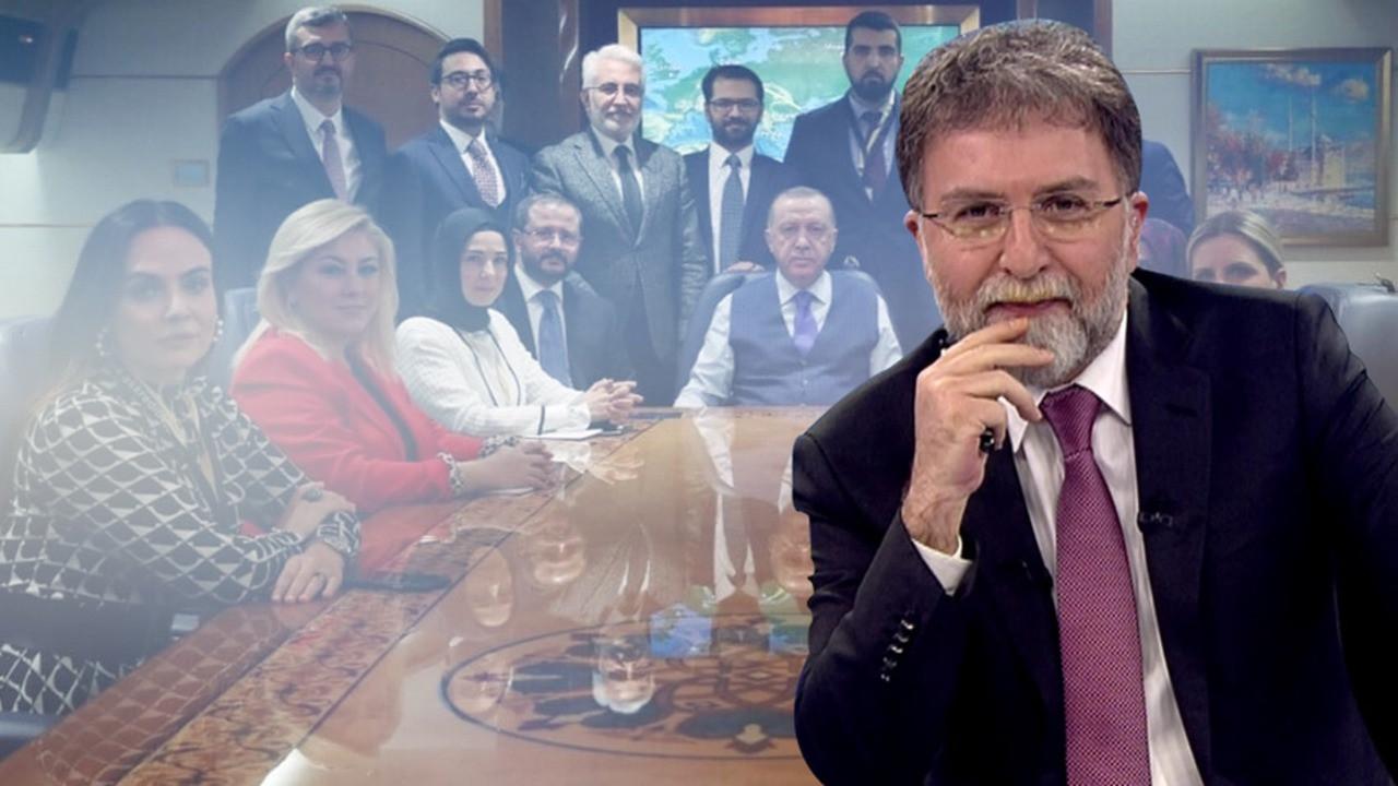 Ahmet Hakan o fotoğrafta nasıl kayboldu?