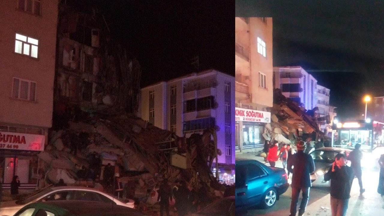 Depremde hayatını kaybedenler var