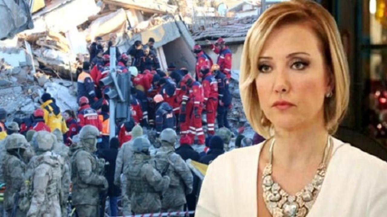 Berna Laçin'in Elazığ depremi paylaşımı olay oldu