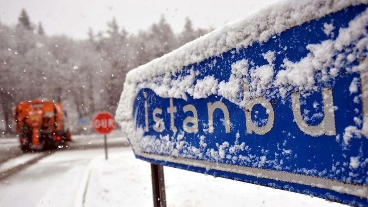 İBB'den İstanbul için flaş kar uyarısı!