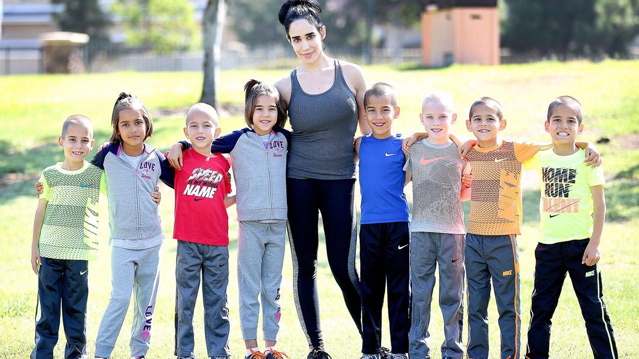 Ahtapot anne Nadya Suleman'ın çocukları 11 yaşına geldi