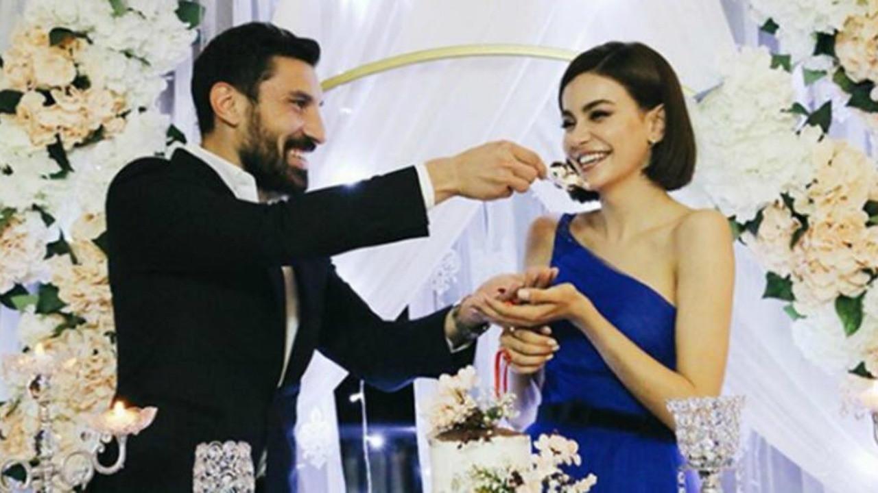 Ünlü çift evlilik yolunda ilk adımı attı... Şilan Makal ile Şener Özbayraklı nişanlandı!
