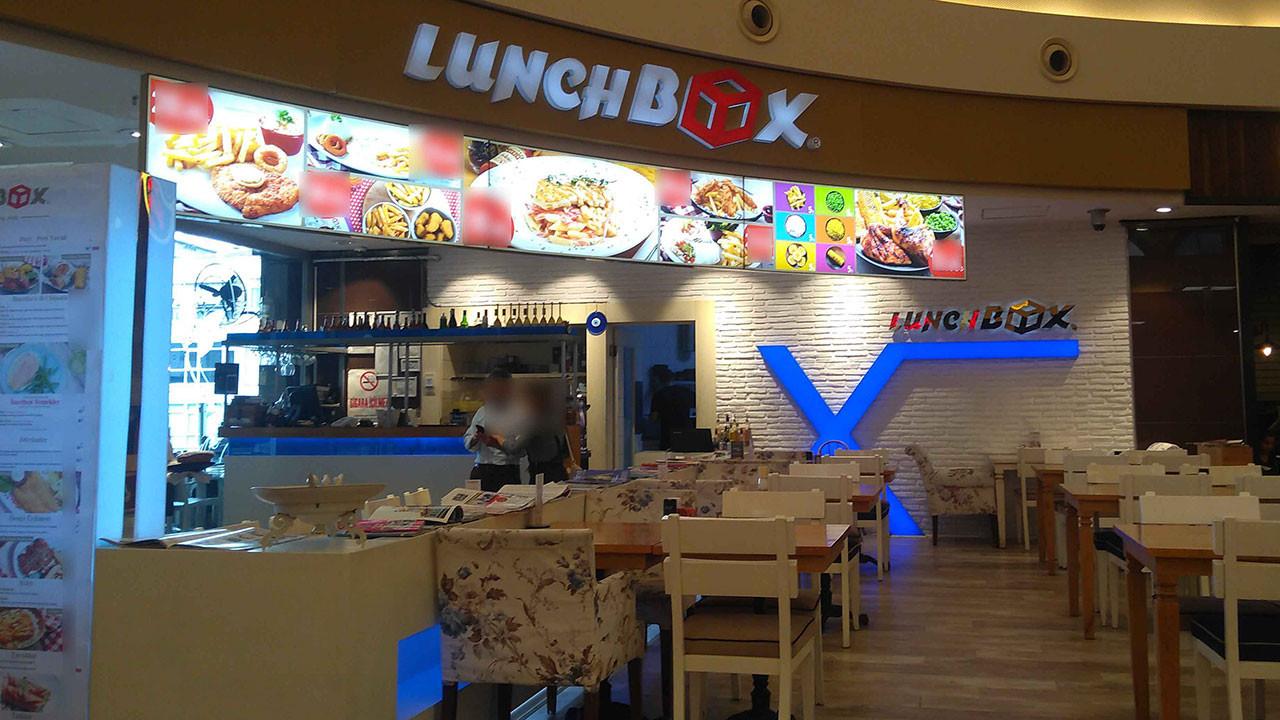 Lunch Box'un 11 şubesi bulunuyordu.