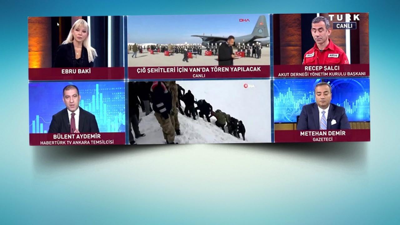 HaberTürk Ankara Temsilcisi'nden bomba iddia! Çığ felaketine Cumhurbaşkanı Başdanışmanı mı neden oldu?