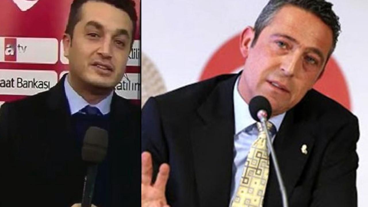 A Spor'da flaş gelişme! Ali Koç'a soru soran muhabir, 'tazminatsız' işten çıkarıldı!
