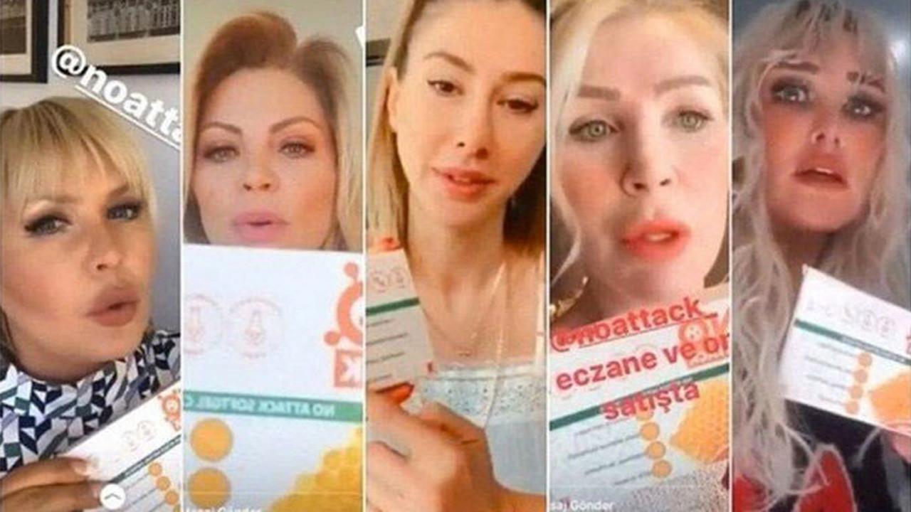 Sahte ilaç reklamı yapan ünlülere soruşturma!