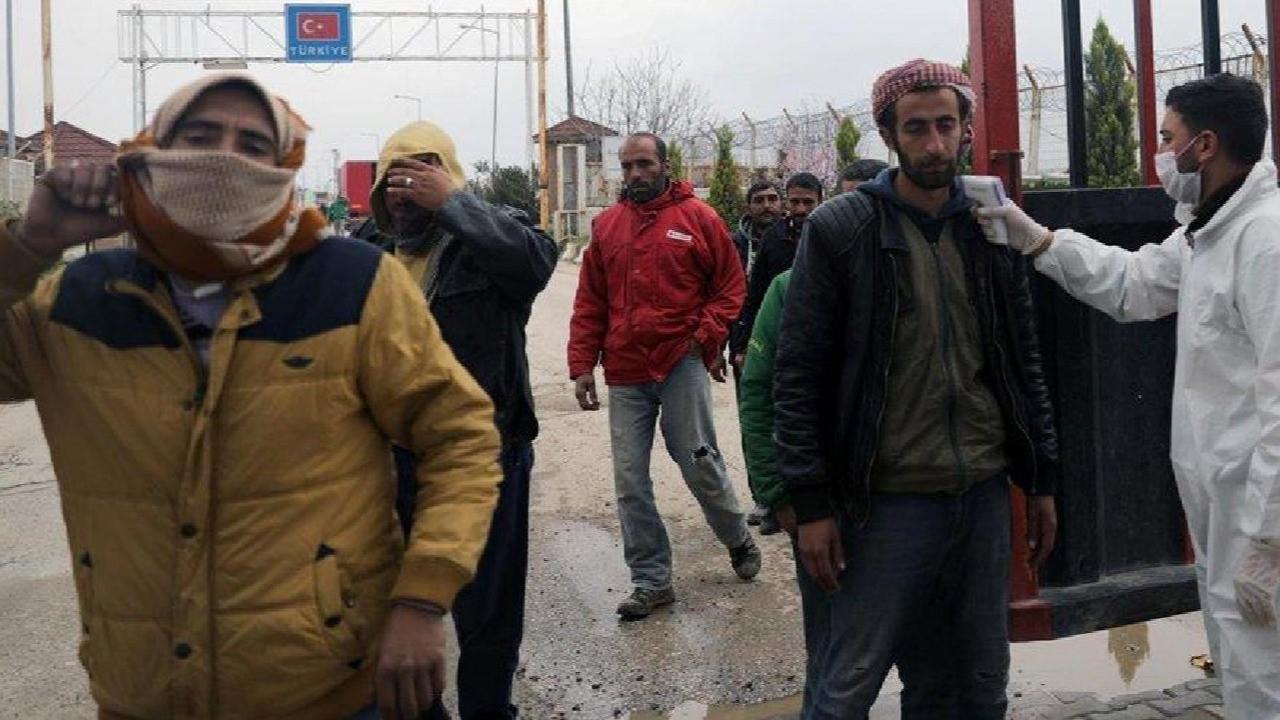 Coronavirus salgını Suriye'ye de sıçradı!