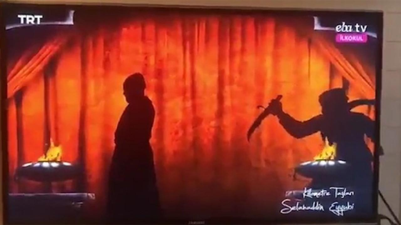 EBA'da tepki çeken bir görüntü daha... Yine idam görüntüsü izlettiler!