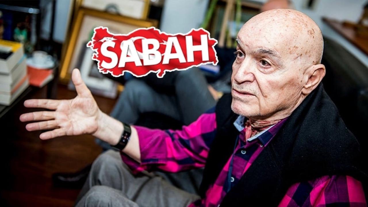 Hıncal Uluç'tan gazetesi Sabah'a sert tepki!