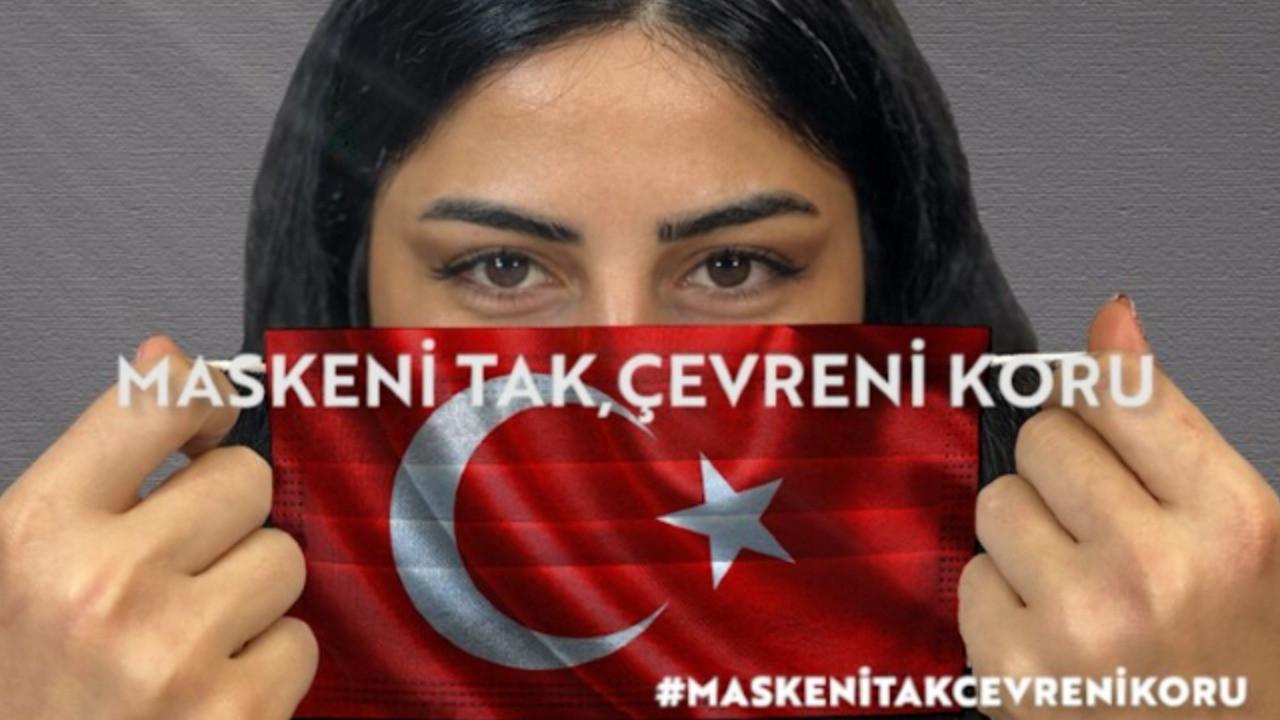Number1'dan 'Maskeni tak çevreni koru' kampanyası!