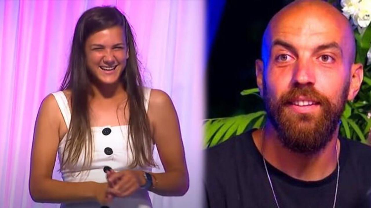 Survivor birleşme partisinde Sercan ve Nisa rüzgarı!