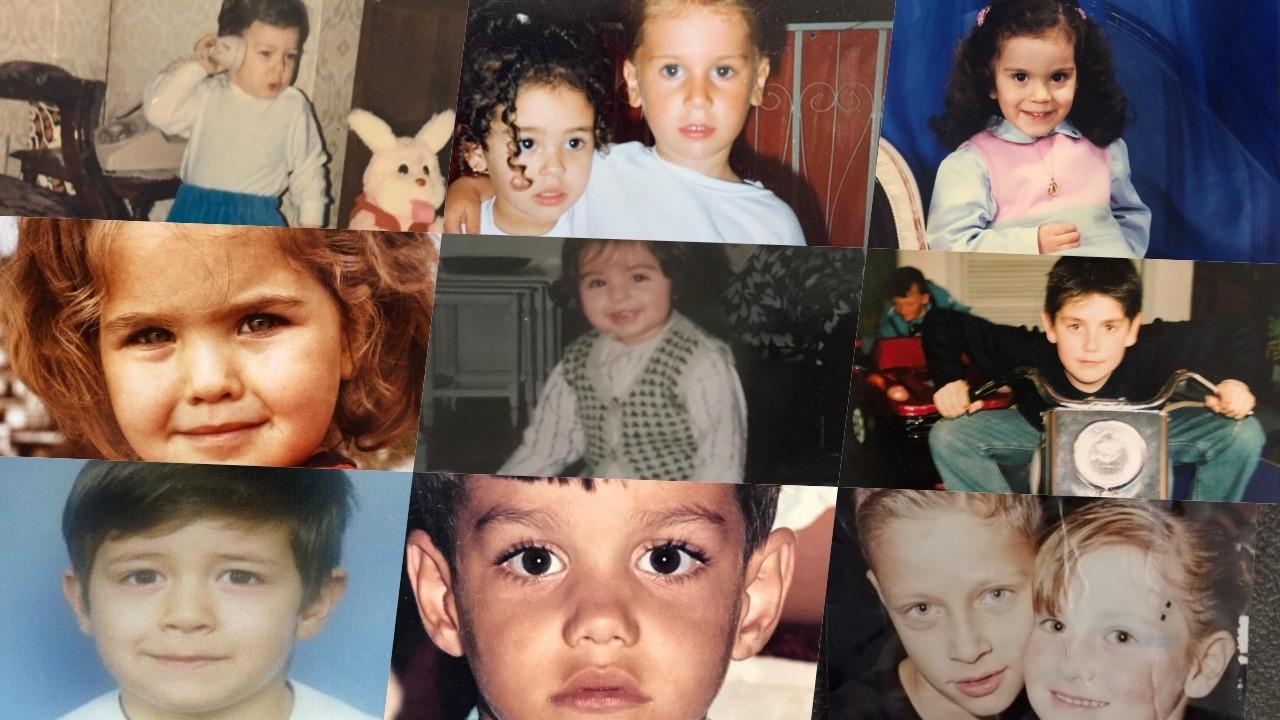 Bu çocukları tanıyabildiniz mi?