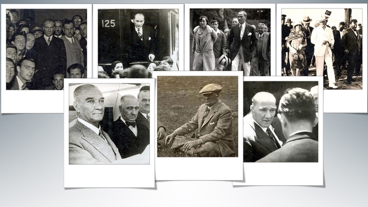 23 Nisan'a özel yayınlandı... Atatürk'ün arşivlerden çıkan son fotoğrafları!