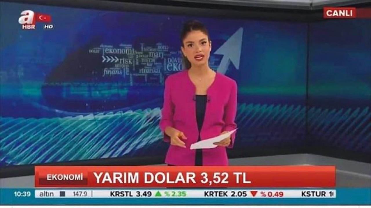 a Haber 'Yarım Dolar 3.52 TL oldu' haberi mi yaptı?