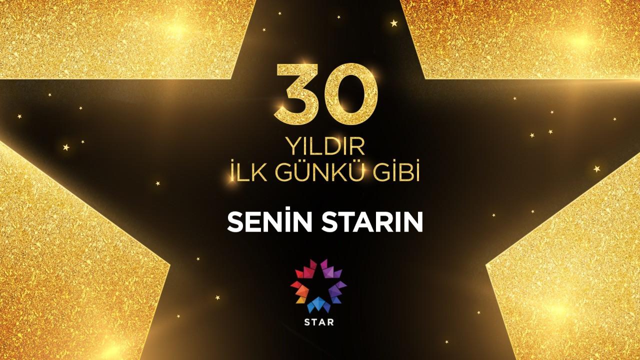 Türkiye'nin ilk özel televizyonu Star, 30'ncu yaşını kutluyor!