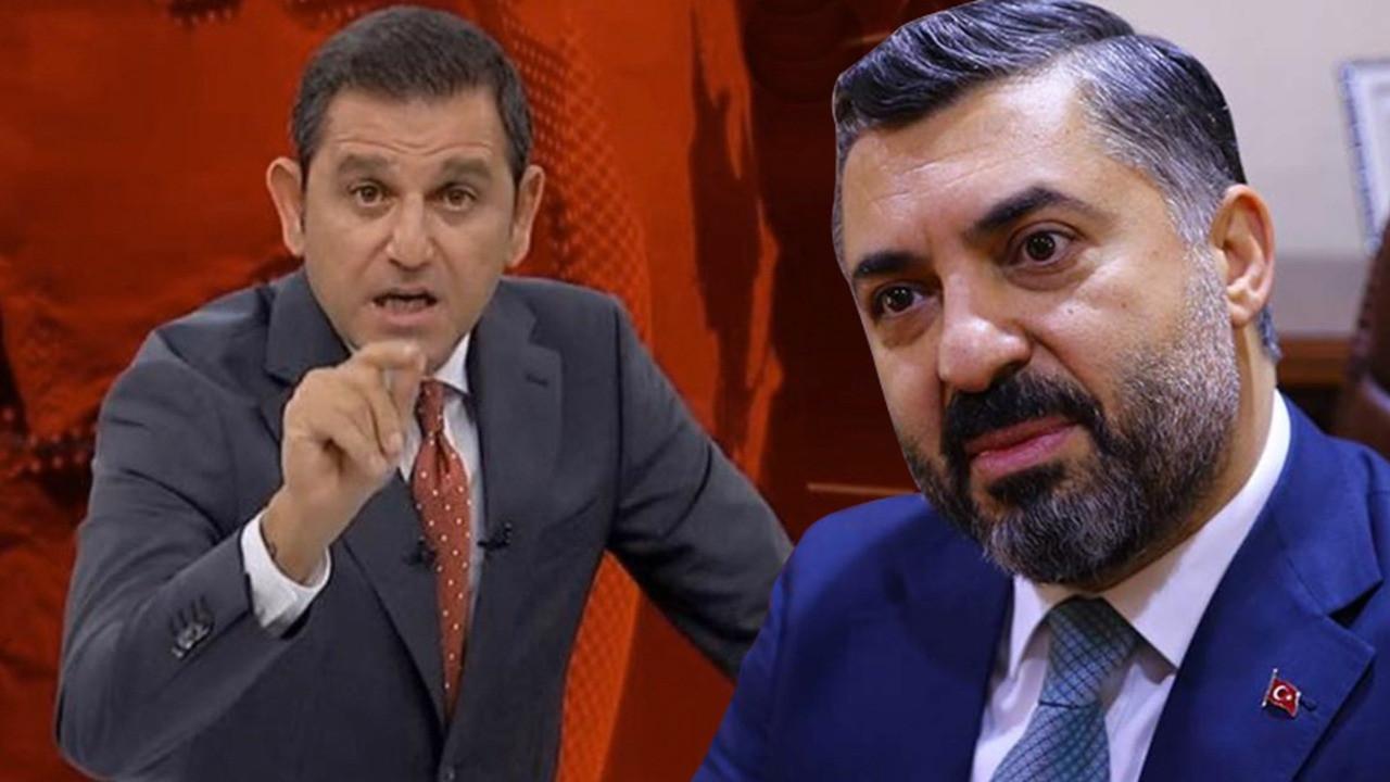 Fatih Portakal'dan RTÜK Başkanı'nın sözlerine tepki!