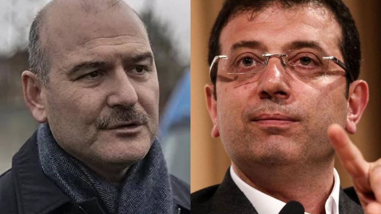 İBB Başkanı Ekrem İmamoğlu Süleyman Soylu hakkında suç duyurusunda bulundu!