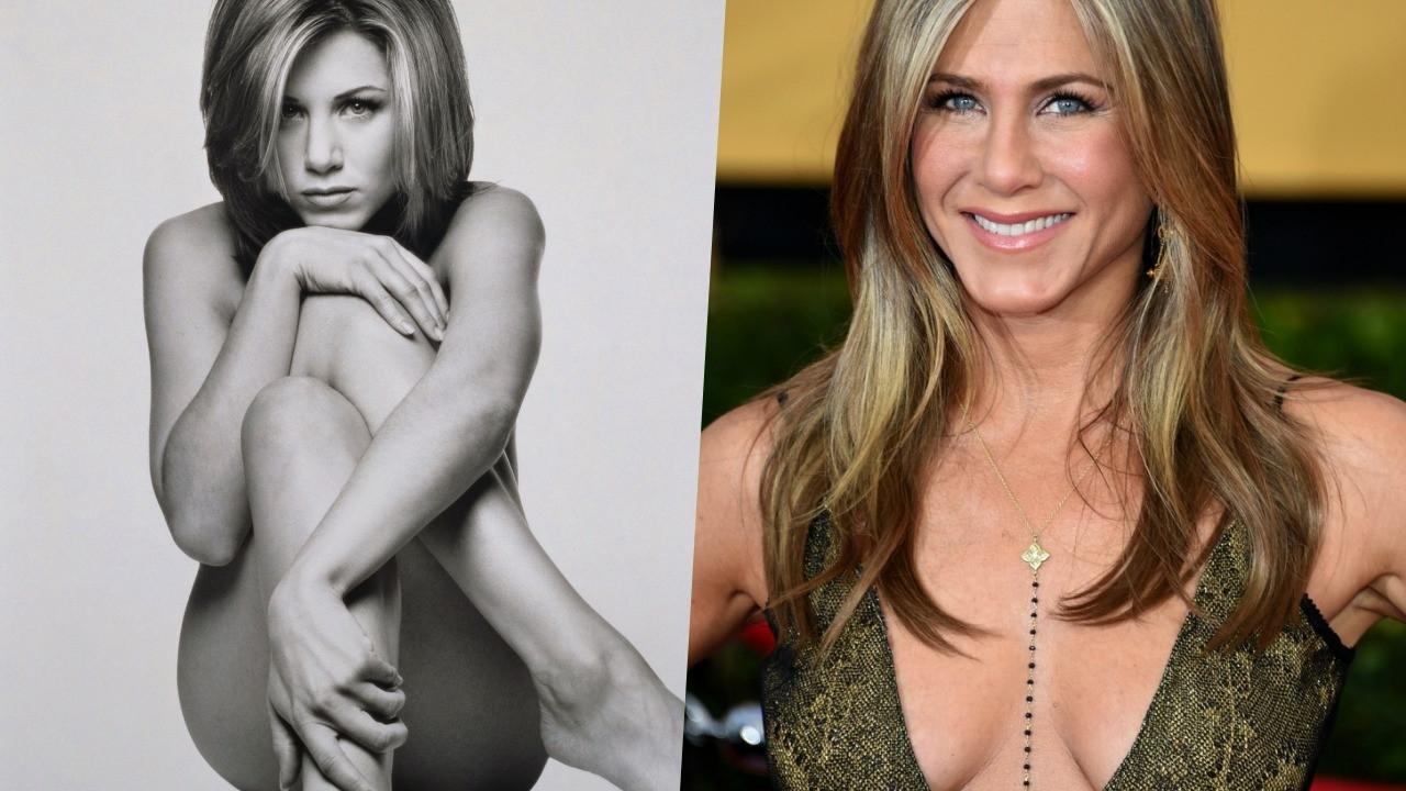 Jennifer Aniston, çıplak portresini açık artırmaya çıkardı