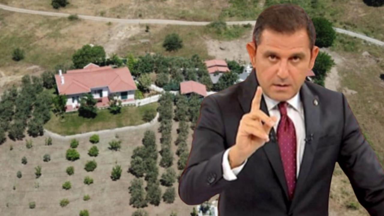Fatih Portakal'ın kaçak yapıya rastlanmayan arazisine, 'kiremit' cezası!