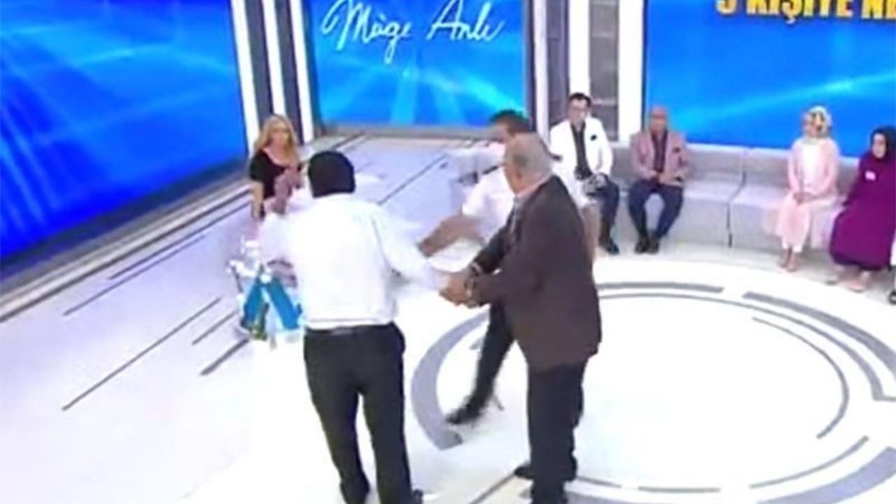 Canlı yayında Müge Anlı'nın üstüne yürüdü!