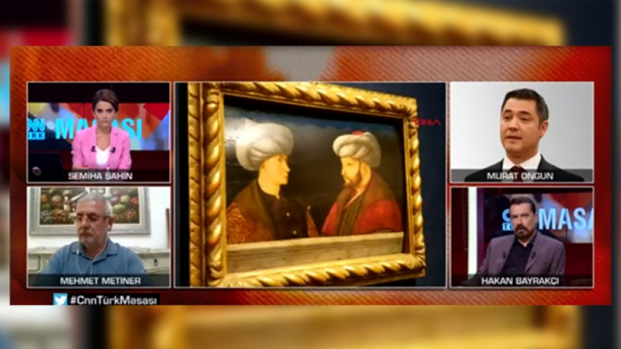 CNN Türk'te Fatih portresi polemiği!