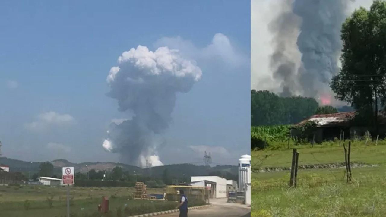 Sakarya'da havai fişek fabrikasında büyük patlama: Dört ölü, 97 yaralı