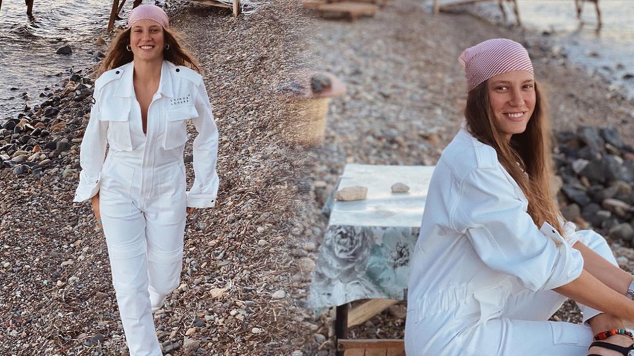Serenay Sarıkaya'nın paylaşımına ilginç yorum: Bir hamile güzelliği gelmiş