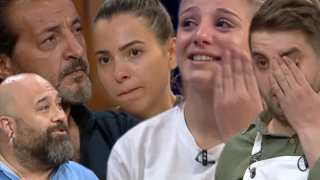 MasterChef'te jüriyi şoke eden ayrılık! Gözyaşlarına boğuldular