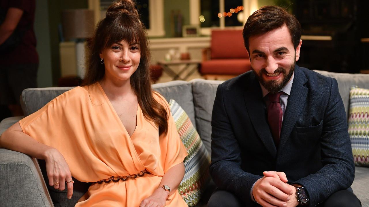 Aykut ve Gülşah yeniden el ele... Aykut Enişte 2 filminden yeni kareler!
