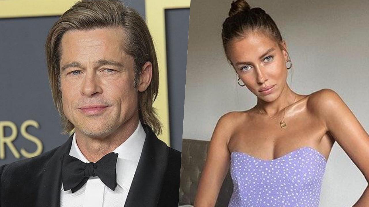 Brad Pitt, aşkı Alman modelde buldu
